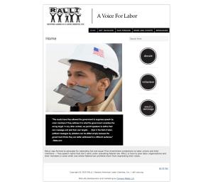 A Voice for Labor | RALLI | Restore American Labor Liberties, Inc.