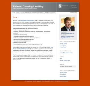 Railroad Crossing Law Blog